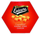 Epicure Crystalised Ginger 200g