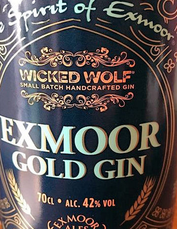 Wicked Wolf Exmoor Gold Gin 42%