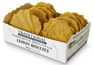 Farmhouse Lemon Biscuits 200G (image 1)