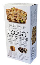 Toast for Cheese Pistachio Apricot Sunflower Seeds