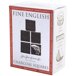 Fine English Charcoal Squares 100g (image 1)