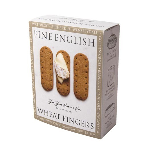 Fine Cheese Company English Wheat Fingers 150g