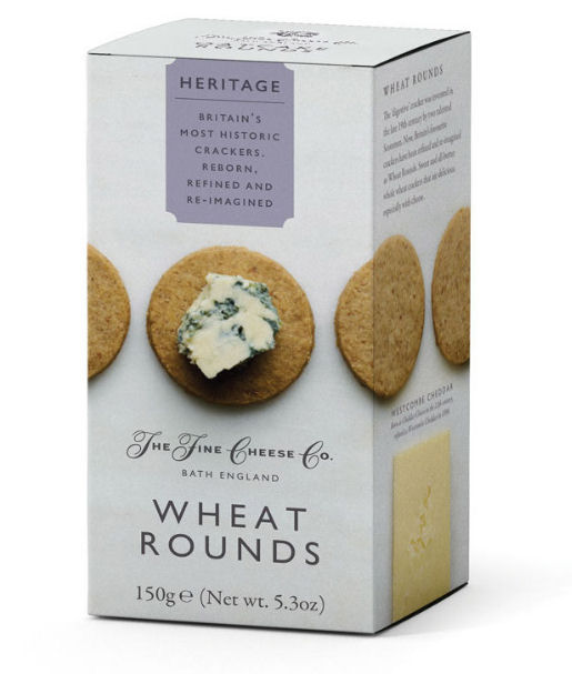Fine Cheese Company Heritage Wheat Rounds 150g
