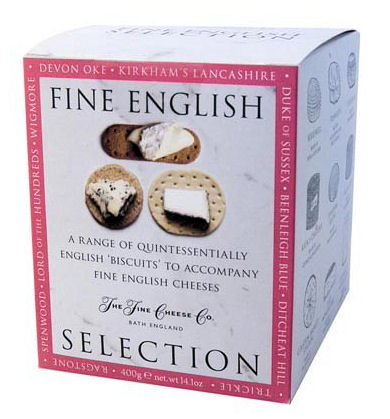 Artisan Biscuits Fine English Biscuits for Cheese 400g