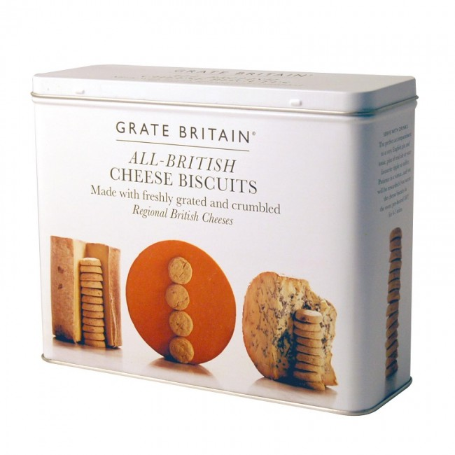 Fine Cheese Company All British Cheese Biscuits Tin