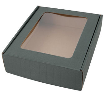 Green Medium Fluted Window Box  (image 1)