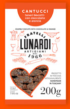 Fratelli Lunardi Cantucci Chocolate & Orange 200g