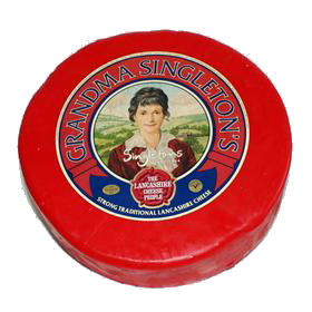 Grandma Singletons Lancashire Whole Cheese 2.2kg