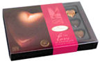 Gudrun For The Love Of Chocolate Hearts 14pc 180g