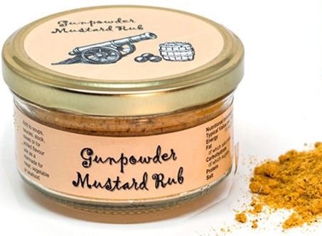 Gunpowder Mustard Rub 100g