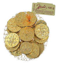 Hamlet Milk Chocolate Money 100g