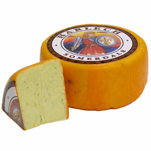 Harlech Cheese Quarter Cheese @450g (image 1)
