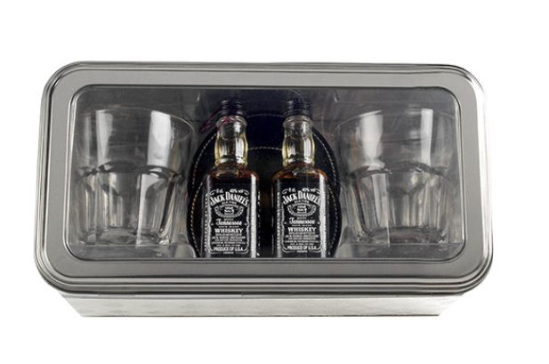 Jack Daniels Whiskey Giftset and Glasses
