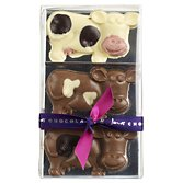 James Chocolate Cows 3pc