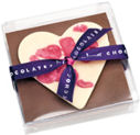 James Milk Chocolate Heart 75g