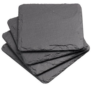 Just Slate Coasters 11cm 4PC (image 3)