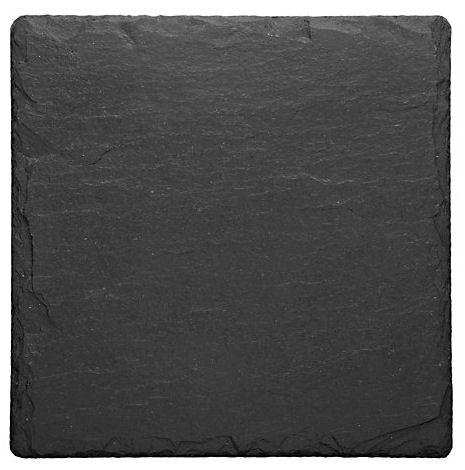 Just Slate Coasters 11cm 4PC (image 1)