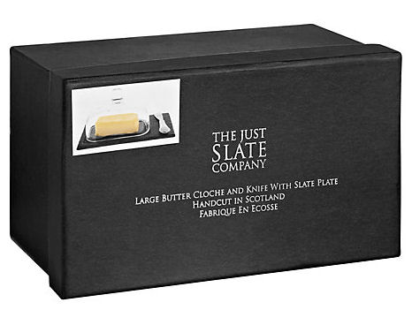 Just Slate Butter Dish and Cloche