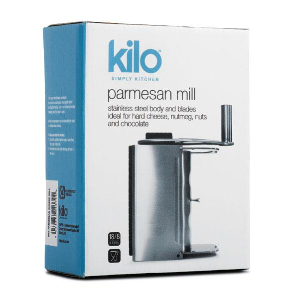 Kilo Parmesan Mill Box
