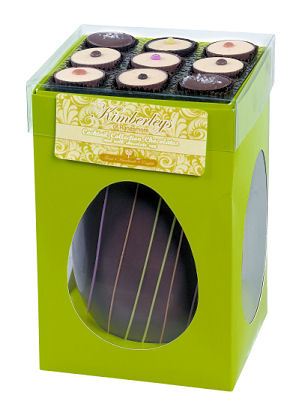 Kimberleys Milk Chocolate Egg 415g with Assorted Milk CHocolates