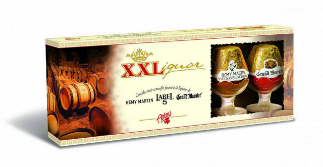 Abtey Liqueur Chocolates Royal des Lys 100g 5Pc