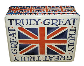 Moores Truly Great Britain Tin of Biscuits 400g