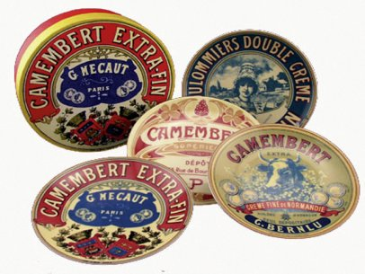 Bia Camembert Side Plates 4pc 13cm (image 1)