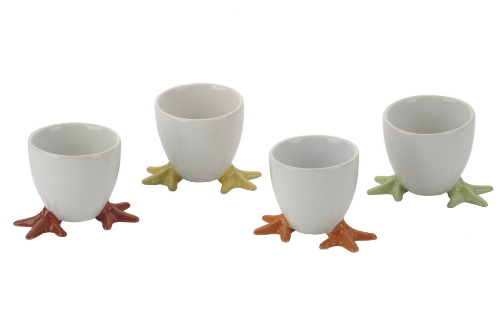 Bia Cordon Bleu Chicken Feet Egg Cups Set 4