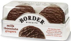 Border Biscuits Milk Chocolate Ginger 150g (image 1)