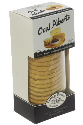 Cottage Delight Oval Alberts 150g Box