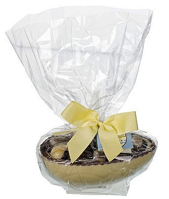 Cottage Delight White Chocolate Half Egg with Chocolates 245g (image 1)