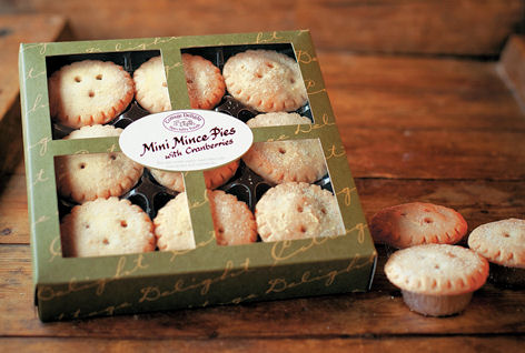 Cottage Delights Mini Mince Pies with Cranberries