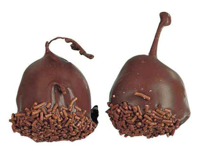 500G Dark Chocolate Covered Cherries in Brandy (Cerisettes) (image 1)