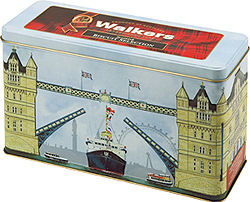 Walkers Tower Bridge Tin Assorted Biscuits 500g (image 1)