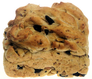 Pullins Olive Sunflower Bread 400g