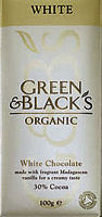 Green & Blacks White Chocolate 100g (image 1)