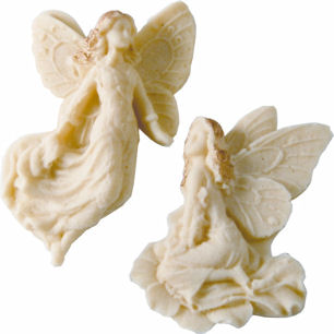 Belgian White Chocolate Fairys 20g (image 1)