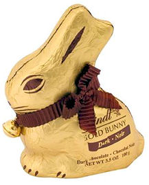 Lindt Easter Bunny Bitter Chocolate 100g (image 1)