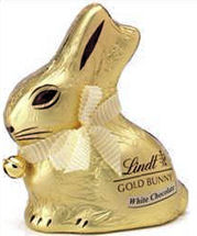 Lindt Easter Bunny White Chocolate 100g (image 1)