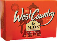 Miles West Country Teabags 125g (image 1)