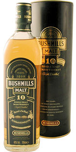 Bushmills 10 Year Single Malt 70cl 40% (image 1)