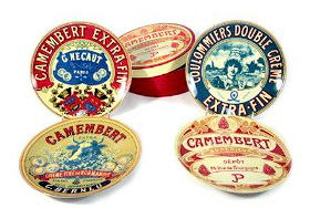 Bia Camembert Cheese Plates 4pc 20cm (image 1)