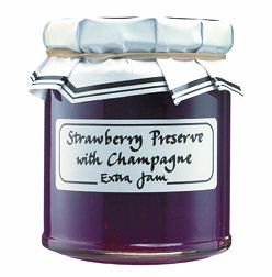 The Cheese And Wine Shop Strawberry Champagne Preserve 240g (image 1)