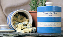 Cornish Blue Cheese In Presentation Pot 200g