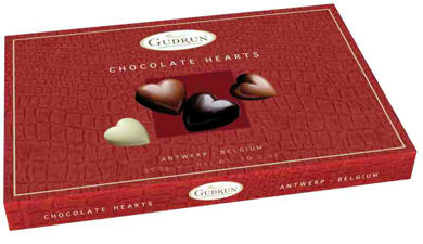 Gudrun Chocolate Hearts 300g (image 1)