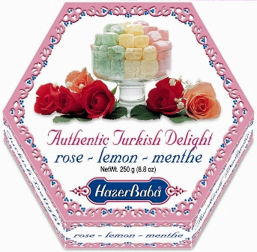 Hazer Baba Turkish Delight 250g Assorted (image 1)
