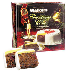 Walkers Fruit Cake with Brandy