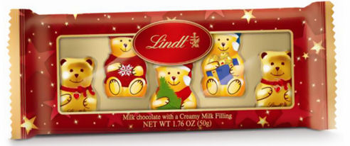 Lindt Mini Bear & Friends 50g 5Pc (image 1)