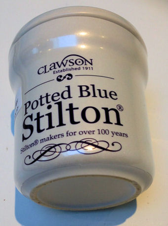 Long Clawson Blue Stilton Jar