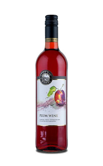 Lyme Bay Plum Wine 75cl